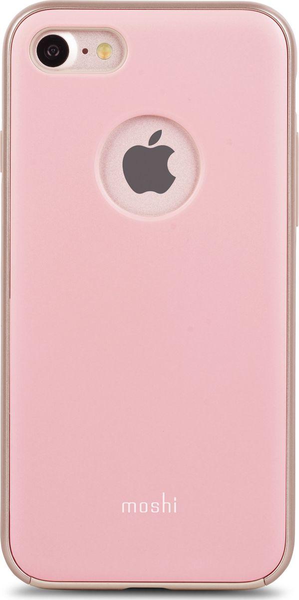 Moshi iGlaze чехол для iPhone 7/8, Blush Pink99MO088301Moshi iGlaze, выполненный в лаконичном стиле, обеспечивает максимальную степень защиты вашего iPhone от повседневных падений, царапин и ударов. Дизайн собственной разработки включает в себя ударопоглощающий внутренний слой, объединённый с защитным противоударным корпусом, что позволило создать лёгкий чехол с длительным сроком службы, эффективно защищающий ваш изящный iPhone. Лаконичный iGlaze обеспечивает наилучшую защиту iPhone, подчёркивая изящество его форм.