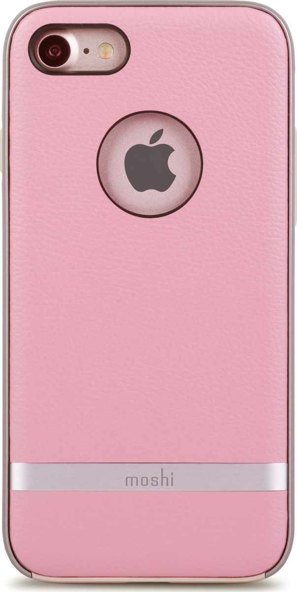 Moshi Napa чехол для iPhone 7/8, Melrose Pink99MO088302Благодаря используемым в производстве материалам высочайшего качества, Moshi Napa обеспечивает максимальный уровень защиты и подчёркивает элегантность вашего устройства. Чехол обладает гибридной конструкцией разработки: ударопоглощающая рамка внутри и небьющаяся оболочка снаружи. Эта конструкция надежно защищает устройство при ударах и падениях. Moshi Napa, изготовленная из веган кожи с алюминиевой вставкой, изысканна и элегантна. Это прекрасный выбор для тех, кто стремится обеспечить наилучший уровень безопасности для своего устройства.