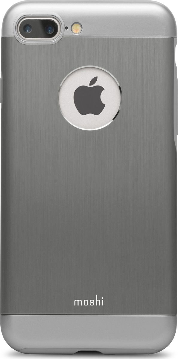 Moshi Armour чехол для iPhone 7 Plus/8 Plus, Gunmetal Gray футболка спортивная under armour under armour un001emtvp51