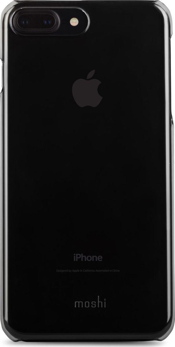 Moshi XT чехол для iPhone 7 Plus/8 Plus, Stealth black99MO090061Чехол XT превосходен в эффективной защите iPhone от ежедневного износа и не теряет при этом изящества формы и функциональности. Все кнопки iPhone легко доступны, когда устройство в чехле. Внешняя сторона оснащена специальным покрытием для обеспечения особой защиты от царапин. Невероятно тонкий и прозрачный, XT является идеальным выбором для всех, кто стремится к невидимой защите iPhone.ХарактеристикиНевероятно тонкая защита для iPhone.Твердая поверхность, обеспечивающая особенно эффективную защиту от царапин.Flash-friendly, не влияет на работу вспышки.Все кнопки iPhone легко доступны.