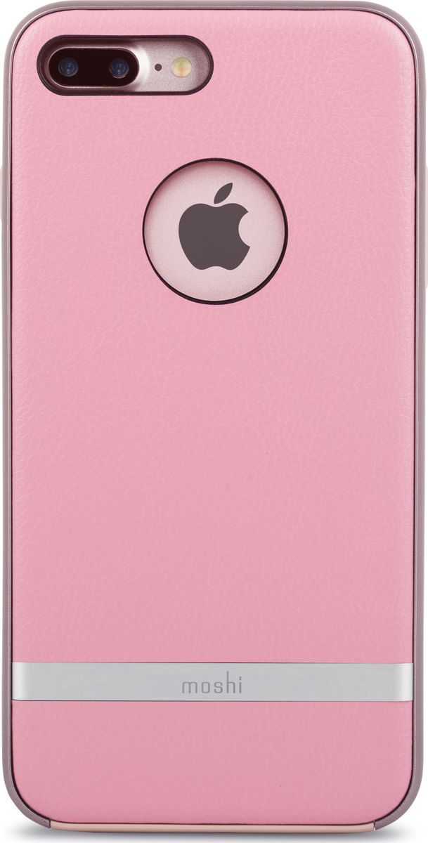 Moshi Napa чехол для iPhone 7 Plus/8 Plus, Melrose Pink цена