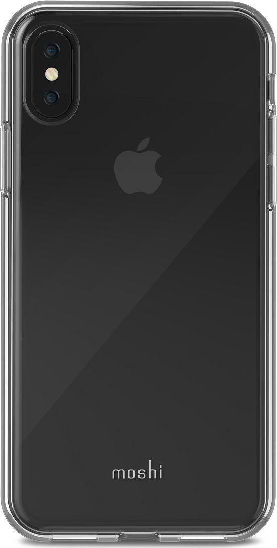 Moshi Vitros чехол для iPhone X, Clear99MO103901Vitros для iPhone X от Moshi это тонкий ударопрочный прозрачный чехол в минималистском стиле. Амортизирующая рамка чехла создана с использованием запатентованного процесса испарения металлов, для создания глянцевой поверхности, которая является одновременно стильной и защитной. Стильный Vitros защищает Ваш iPhone от царапин и ударов, а также поддерживает беспроводную зарядку Вашего устройства. Созданный из полимера, этот чехол прошел тестирования на сопротивление ???истиранию, нагреву и изгибу, таким образом, Ваш чехол сохранит свой блеск на протяжении долгого времени. ???Приподнятые края защищают экран iPhone, когда он лежит экраном вниз, а также сохранен свободный доступ ко всем кнопкам, портам и камере. Vitros доступен в разных цветах и обладает ограниченной пожизненной гарантией от Moshi.ХарактеристикиСверхтонкий чехол с противоударной защитой, соответствующей оборонным стандартам.Полимер сопротивляется ???истиранию, нагреву и изгибу.Прозрачная задняя часть показывает дизайн iPhone.??????Все кнопки полностью защищены.???Приподнятые края защищают экран iPhone, когда он лежит экраном вниз.??????Металлизированная рамка в разных цветовых решениях.Поддерживает беспроводную зарядку.