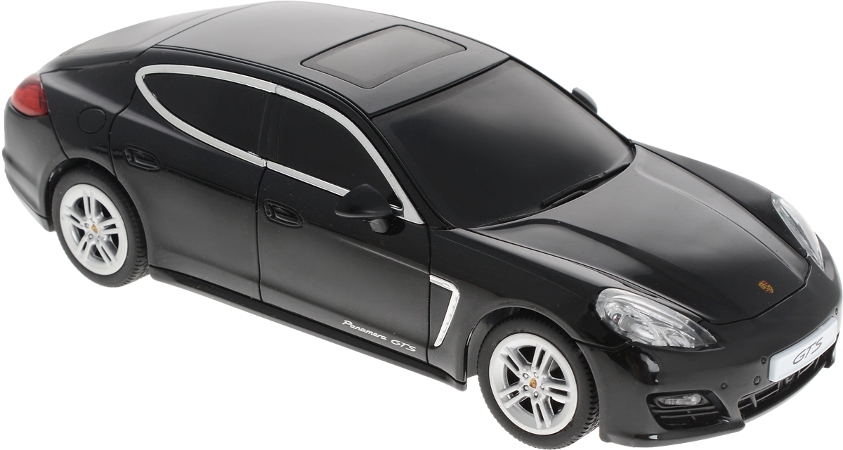 Dickie Toys Радиоуправляемая модель Porsche Panamera цвет черный uni fortunetoys модель автомобиля porsche cayenne turbo