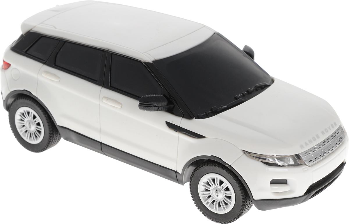 Dickie Toys Радиоуправляемая модель Range Rover Evoque цвет белый dickie toys машинка bumblebee tin box
