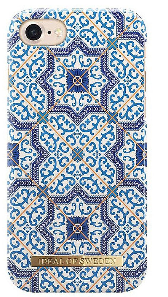 iDeal чехол для iPhone 7/8, MarrakechIDFCA16-I7-23iDeal - это модный аксессуар, стильное и оригинальное украшение, имеющее яркий дизайн, насыщенные цвета и необычный узор, в сочетании с высокой степенью защиты мобильного устройства, сохраняет привлекательный внешний вид и подчеркивает индивидуальный стиль, а также изысканный вкус владельца.Чехол-накладка iDeal - это надежная защита корпуса смартфона от царапин и внешних воздействий. Конструкция чехла обеспечивает его надежное крепление на корпусе мобильного устройства.Специальные вырезы обеспечивают свободный доступ к разъемам и элементам управления, а также позволяют в любой удобный момент вести фото- и видеосъемку. Устойчивый к истиранию пластик клип-кейса надолго сохраняет привлекательный внешний вид и не теряет насыщенность цветов.Аксессуар выполнен из пластика, который имеет среднюю степень жесткости. Изнутри накладка покрыта замшей, чтобы обеспечить корпусу смартфона дополнительную защиту от царапин.