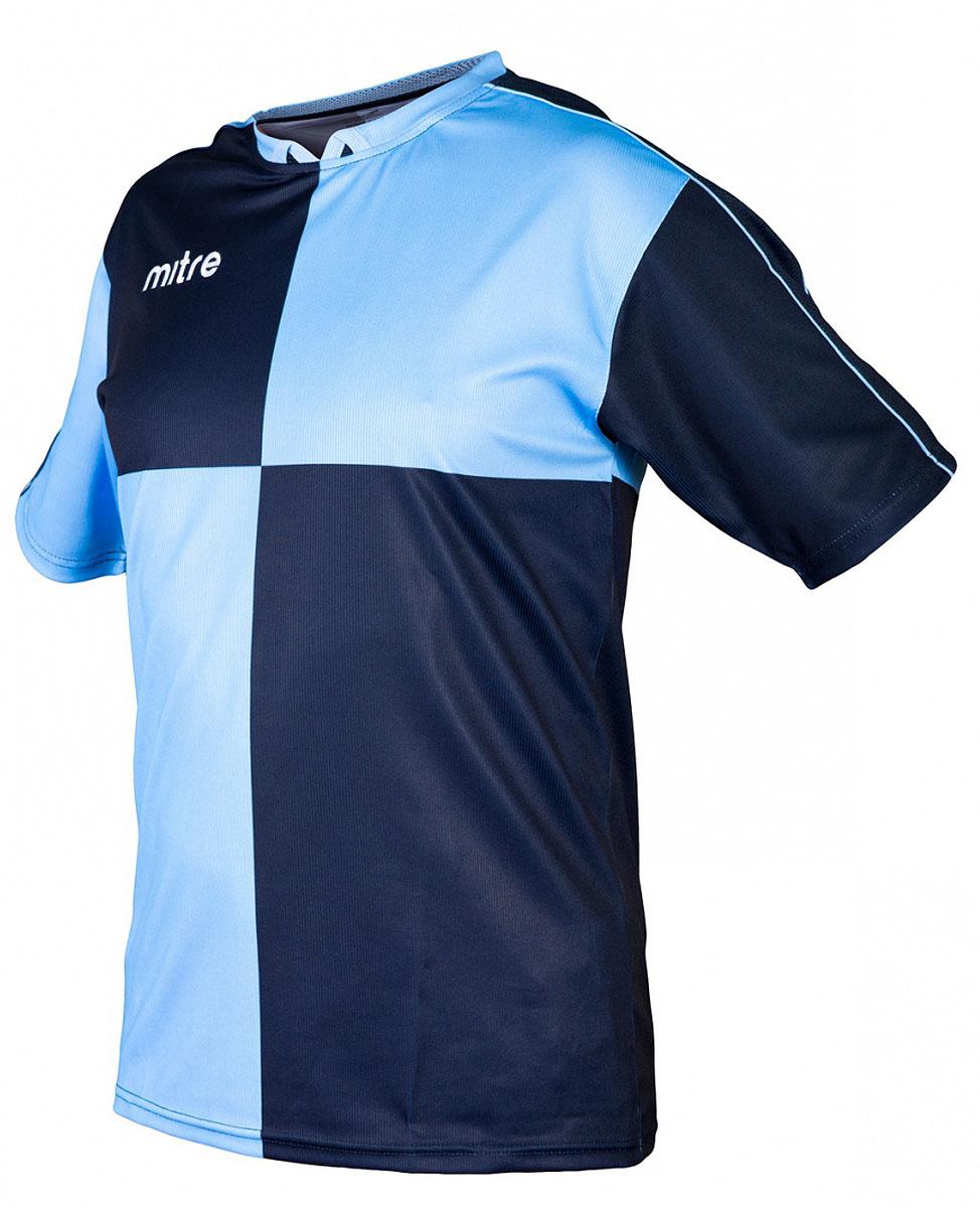 Футболка для мальчика Mitre, цвет: голубой. 5T40033BSCB. Размер 146 футболка мужская mitre цвет голубой 5t40033mscb размер l 50 52