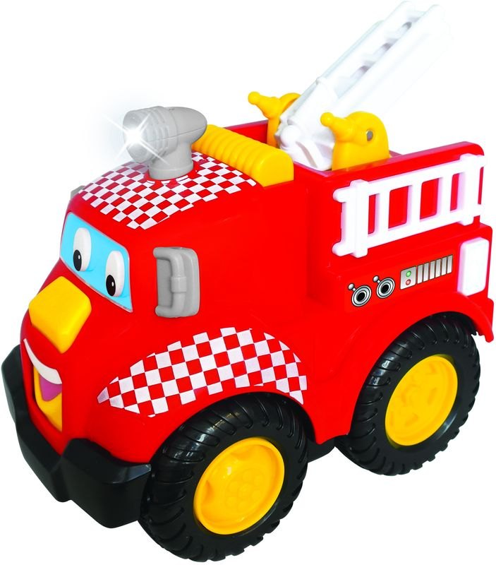 Kiddieland Развивающая игрушка Пожарная машина затир машина grost zmu без двигателя