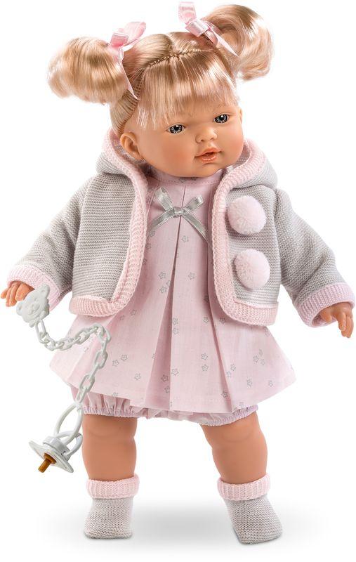 Llorens Кукла Роберта платье розовое в пол купить в