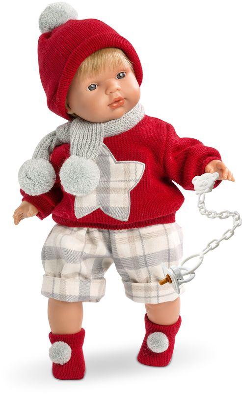 Llorens Кукла Саша кофту из флиса купить