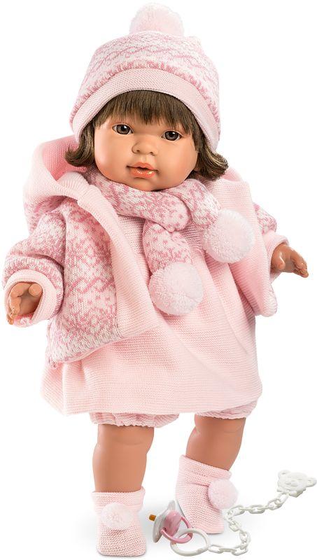 Llorens Кукла Карла L 42130 платье розовое в пол купить в