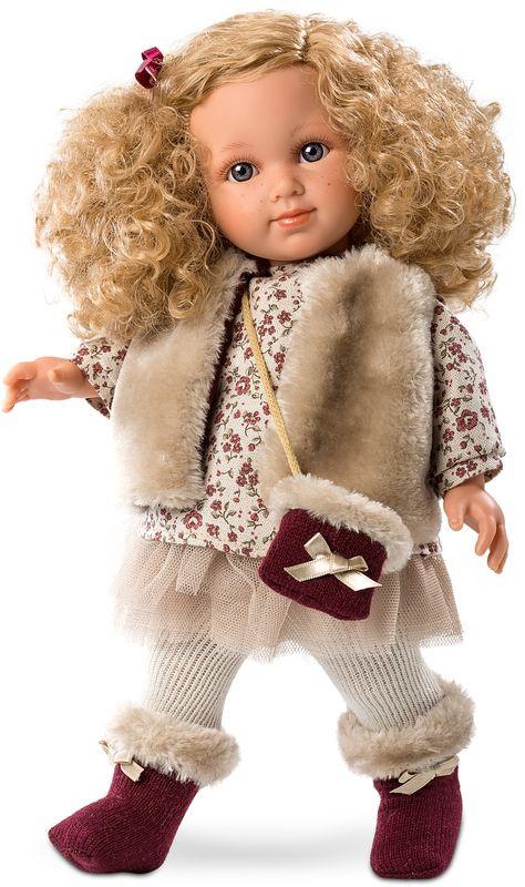 Llorens Кукла Елена L 53517 носочки и колготки для куклы 46см в ассортименте our generation