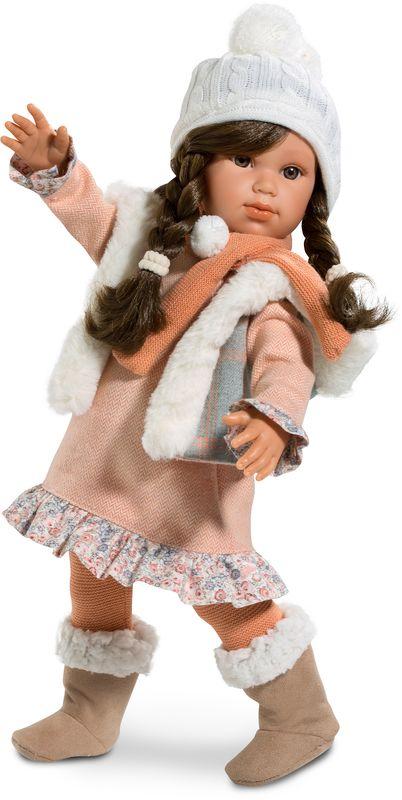 Llorens Кукла Ангелина платье розовое в пол купить в