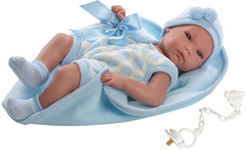 где купить Llorens Кукла Пипо с одеялом по лучшей цене