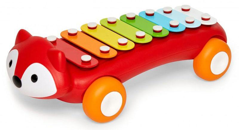 Skip Hop Развивающая игрушка Лиса-ксилофон skip hop развивающая игрушка каталка пчела