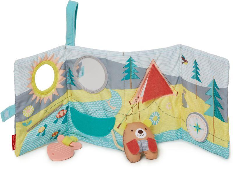 Skip Hop Развивающая игрушка-книжка фиксатор двери мир детства мишка