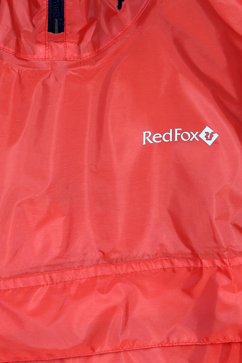 Дождевик Red Fox Poncho Plus, цвет:  красный.  13985.  Размер универсальный