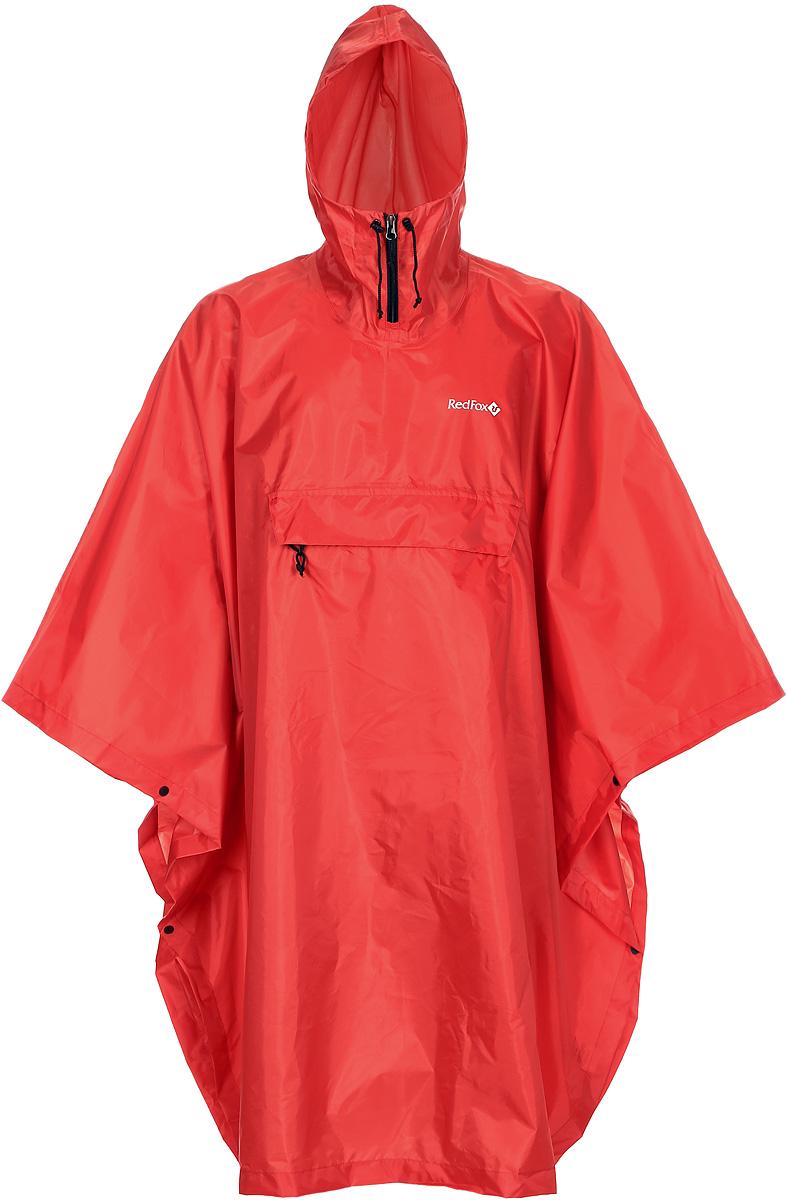 Дождевик Red Fox Poncho Plus, цвет: красный. 13985. Размер универсальный половник gipfel primadonna 2889