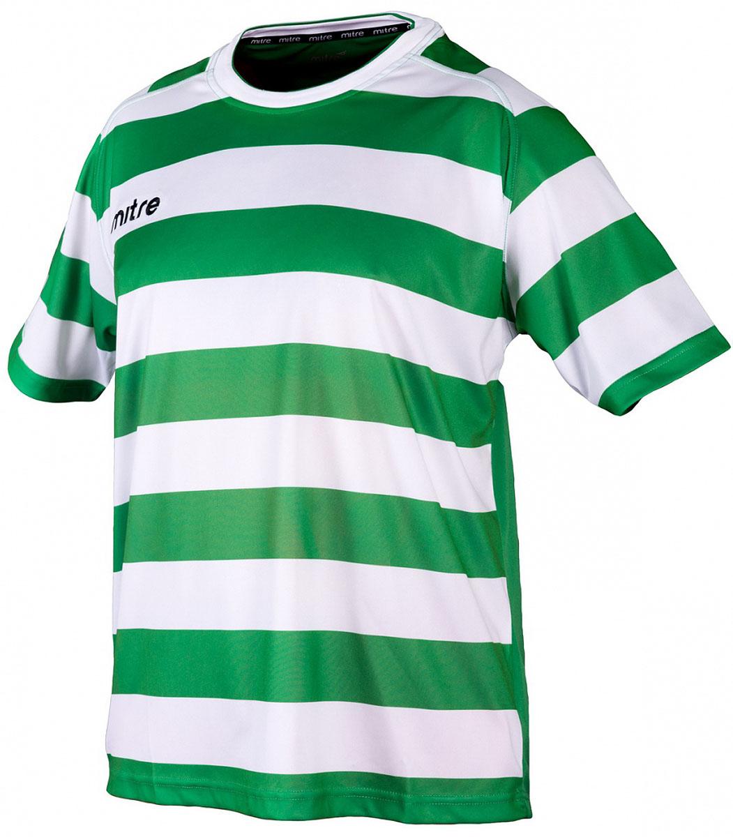 Футболка для мальчиков Mitre, цвет: зеленый. 5TT29024BGF9. Размер 1465TT29024BGF9Удобный эластичный ворот. Вышитый логотип Mitre. Состав: 100% полиэстер.