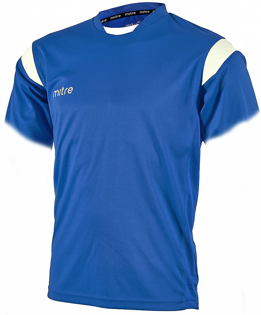 Футболка мужская Mitre, цвет: синий. T70001RH2. Размер XS (44/46)T70001RH2Футболка мужская Mitre выполнена из полиэстера. Новый дизайн с применением множества различных тканей. Удобный эластичный ворот. Сетчатые полосы ткани по бокам футболки улучшают вентиляцию тела.