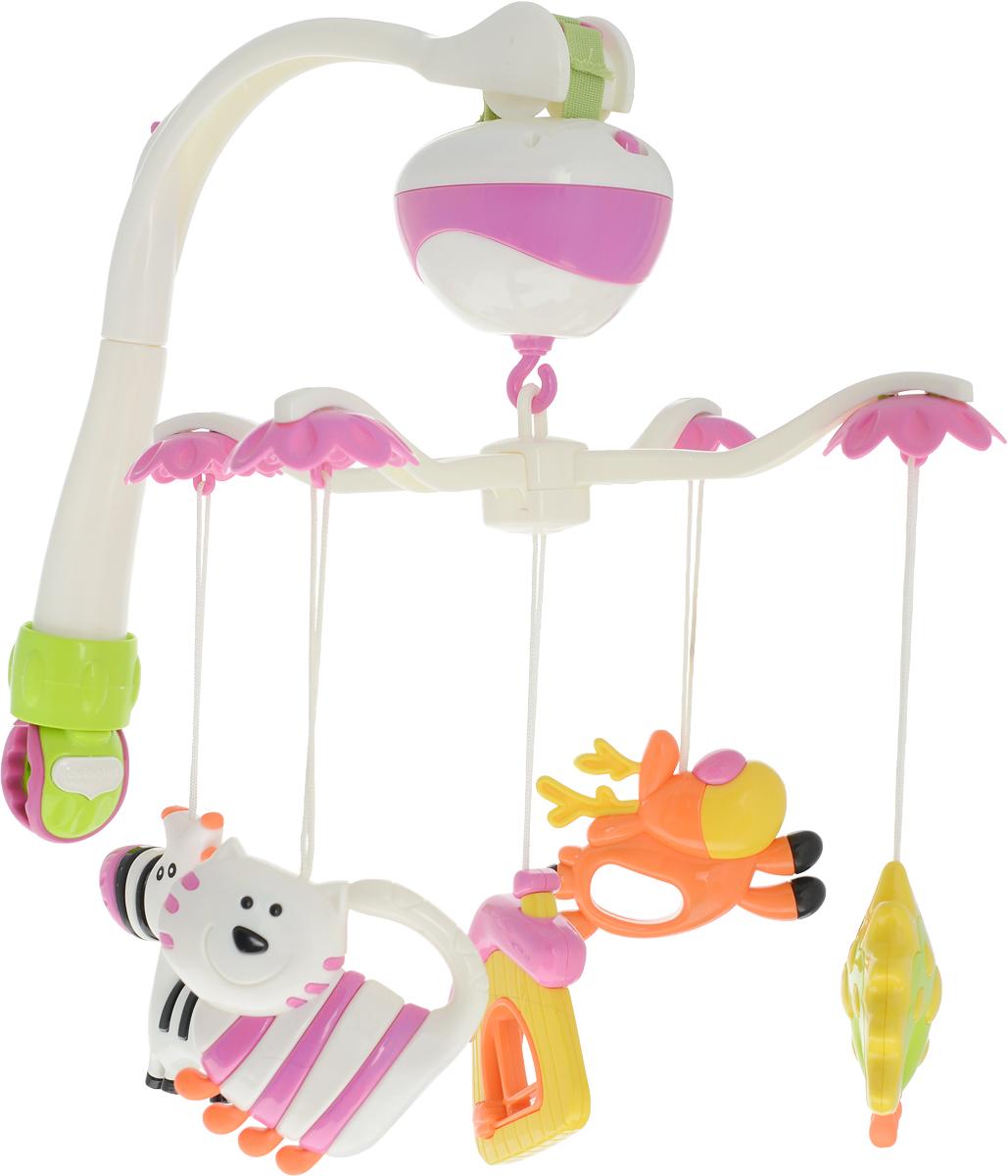 Ути-Пути Мобиль музыкальный Лесные друзья - Игрушки для малышей