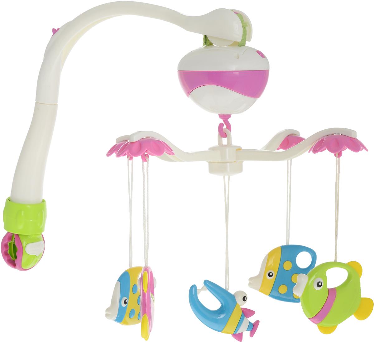 Ути-Пути Мобиль музыкальный Морские друзья - Игрушки для малышей