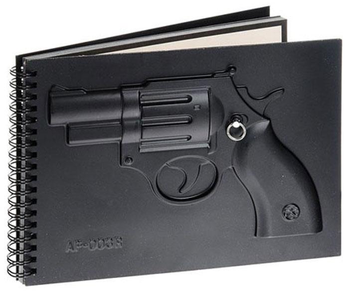 Эврика Блокнот Пистолет93535Солидный, выдержанный в милитари-стиле, большой отрывной блокнот с красивым оттиском оружия на обложке станет замечательным подарком решительному мужчине. Ведь решительным мужчинам тоже иногда приходится кое-что записывать!