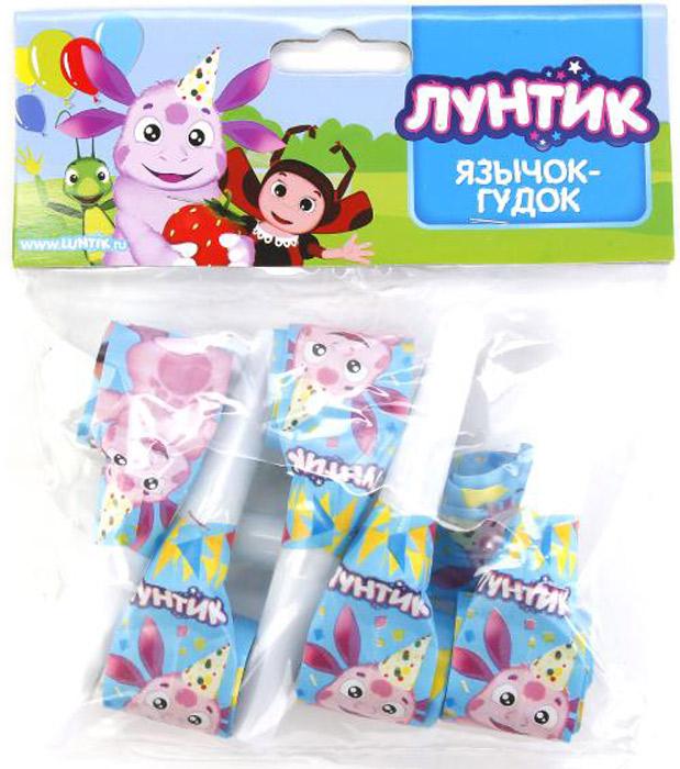 Веселый праздник Набор язычков-гудков Лунтик 6 шт