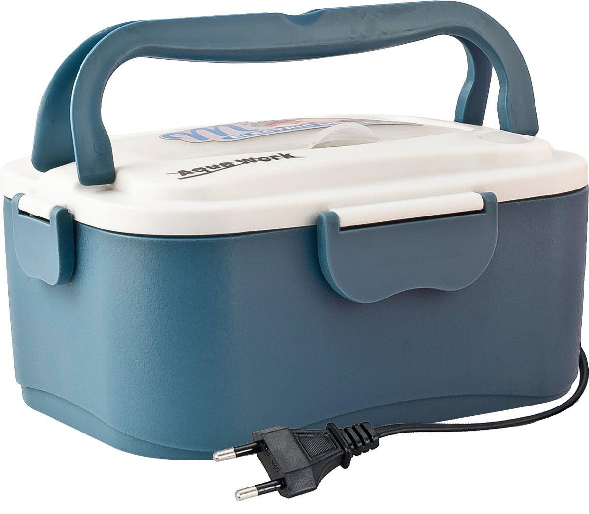 Aqua Work С5, Blue ланчбокс с подогревом 220В - Подогреватели посуды