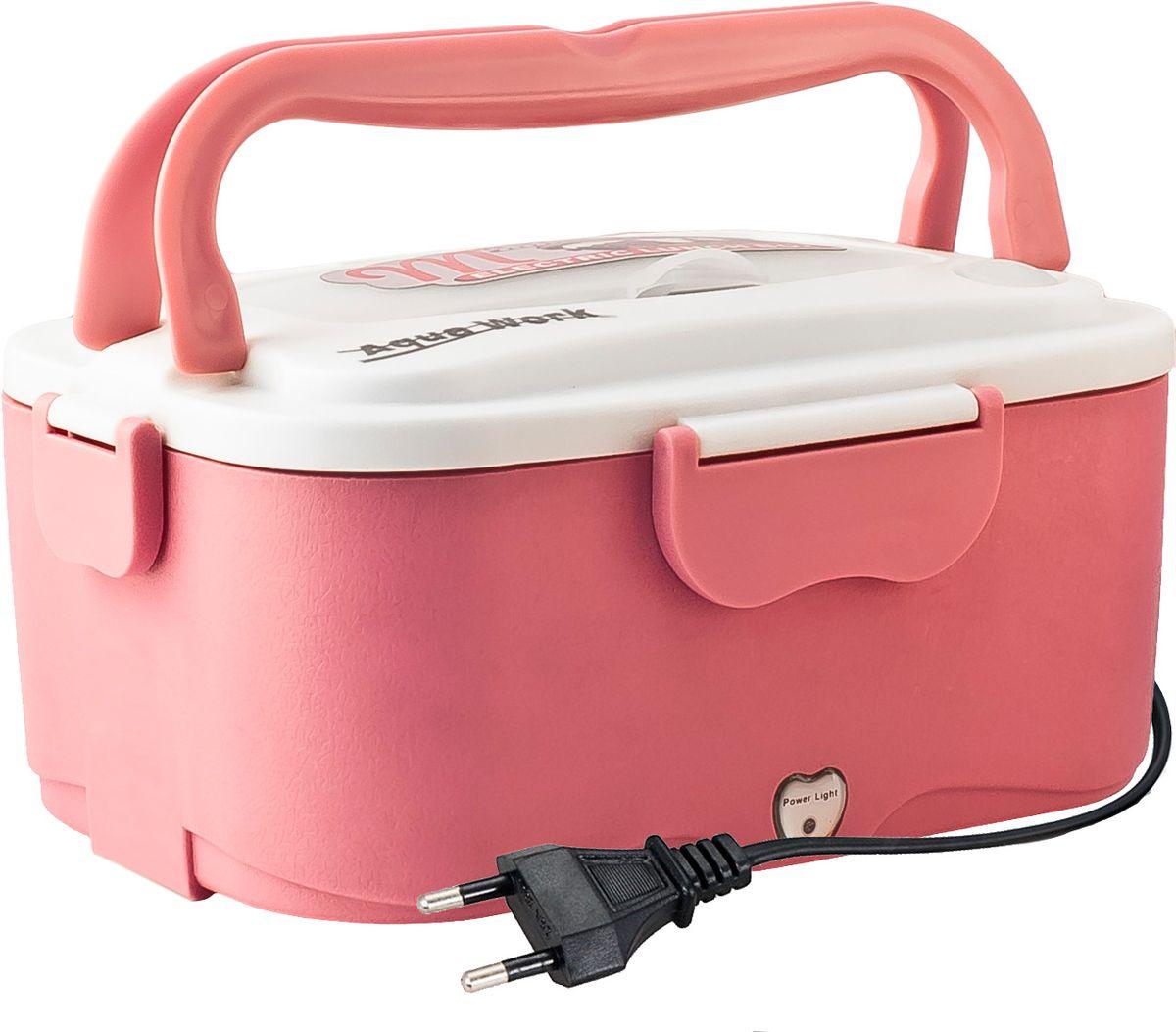 Aqua Work С5, Pink ланчбокс с подогревом 220В - Подогреватели посуды