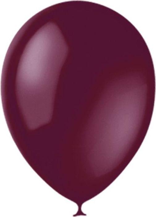 Latex Occidental Набор воздушных шариков Декоратор Burgundy 046 100 шт летающие шары