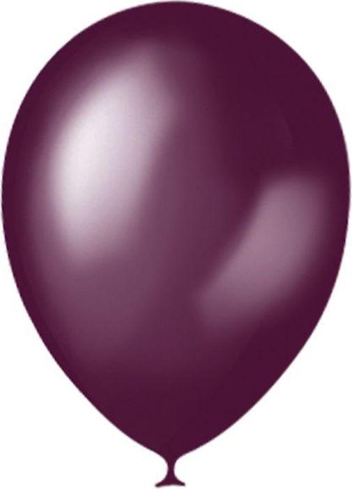 latex occidental набор воздушных шариков микс 10 шт Latex Occidental Набор воздушных шариков Металлик цвет Burgundy 032 100 шт