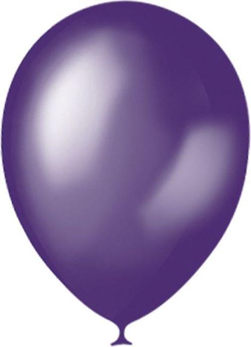 latex occidental набор воздушных шариков микс 10 шт Latex Occidental Набор воздушных шариков Металлик цвет Purple 023 100 шт