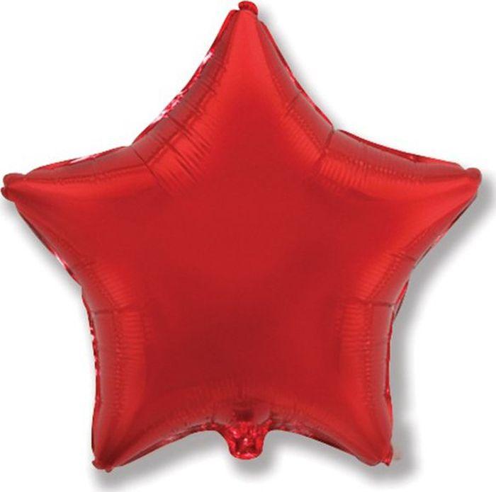 Флексметал Шарик воздушный Звезда цвет красный