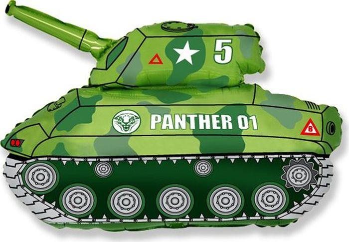 Флексметал Шарик воздушный Танк цвет зеленый флексметал шарик воздушный принцесса