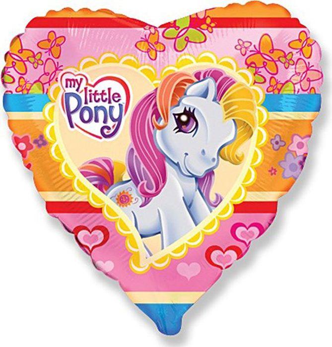 Флексметал Шарик воздушный Моя маленькая пони Сердце флексметал шарик воздушный принцесса