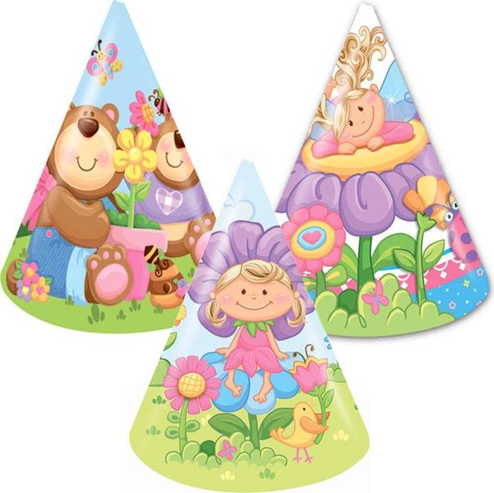 Пати Бум Колпак Детская коллекция 6 шт