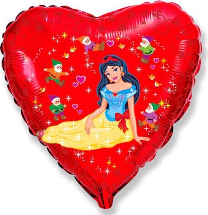 Флексметал Шарик воздушный Белоснежка и семь гномов флексметал шарик воздушный принцесса