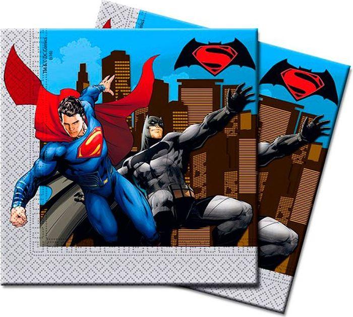 Procos Салфетка Бэтмен против Супермена 20 шт procos салфетка принцесса софия морская 20 шт