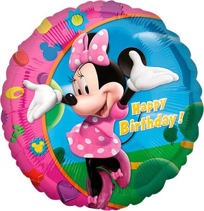 Anagram Шарик воздушный Счастливого Дня рождения Минни желаю тебе самого счастливого дня рождения на свете