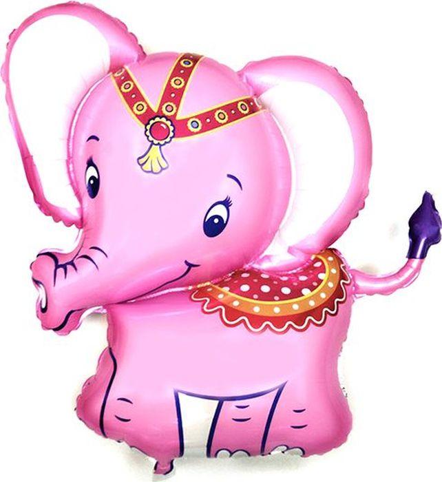 Флексметал Шарик воздушный Слоненок цвет розовый флексметал шарик воздушный принцесса