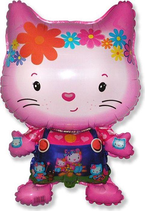 Флексметал Шарик воздушный Котенок Китти цветы флексметал шарик воздушный принцесса