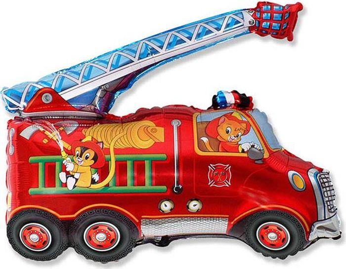 Флексметал Шарик воздушный Пожарная машина