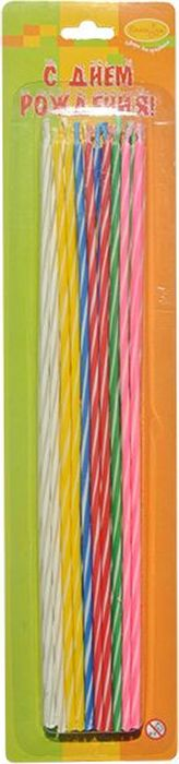 Пати Бум Набор свечей Коктейльные 20 см 20 шт пати бум набор свечей коктейльные 20 см 20 шт