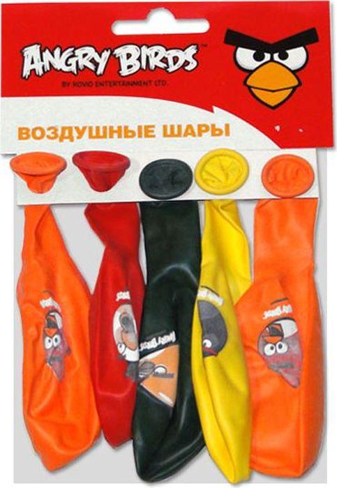 Latex Occidental Набор воздушных шариков Пастель Декоратор Angry Birds 5 шт