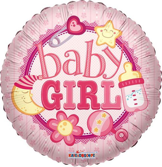 Конвер Шарик воздушный С Рождением девочка монета с рождением малыша