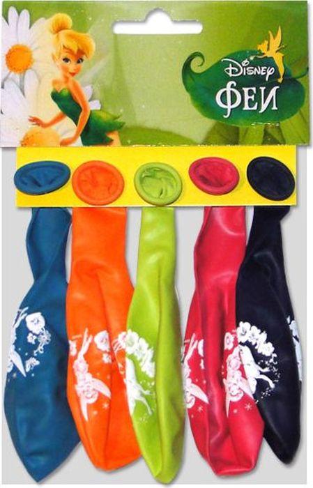 Шарик воздушный Пастель Декоратор Дисней Феи с хедером 5 шт 6027612 феи дисней купить екатеринбург