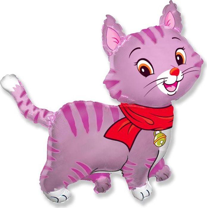 Флексметал Шарик воздушный Кошечка цвет розовый шапочка кошечка розовая карнавалия