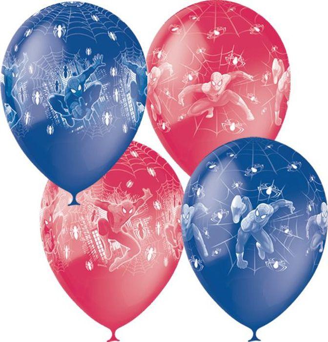Шарик воздушный Человек-Паук 25 шт шарик воздушный совет да любовь 25 шт