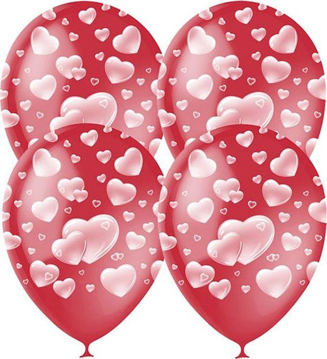 Latex Occidental Набор воздушных шариков Декоратор Сердца 25 шт воздушные шары