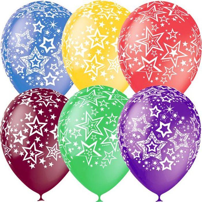 Latex Occidental Набор воздушных шариков Декоратор Звезды 25 шт